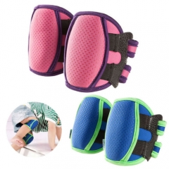 Baby Kids Children Toddler Safety Ajustable Crawling Knee Pads Protector pink one size