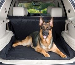 Water Resistant Protective Car Boot Liner Dust Dirt Protector Cover Pet Dog Mat black one size