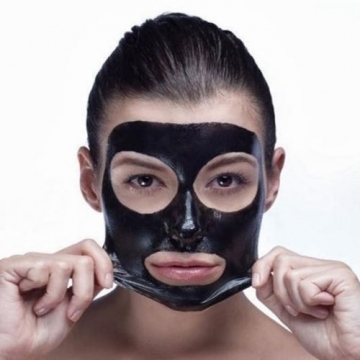 Women Beauty Blackhead Purifying Peel-Off Remover Face Mask Deep Cleansing 60g black