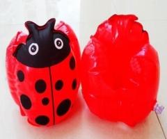 Ladybug Swim Training Swimming Inflatable Baby Kids Float Arm Bands Water Sports blue one size