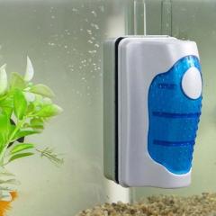 Magnetic Aquarium Fish Tank Glass Algae Scraper Cleaner Floating Clean Brush white one size
