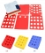 Kids Dress T Shirt Clothes Folder Flip Laundry Organizer Board Notice 40 x 38cm red
