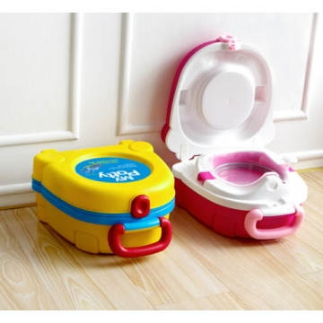 Portable Car Travel Toddler Baby Boy Girl Potty Training Urinal Pee Pot Toilet blue one size