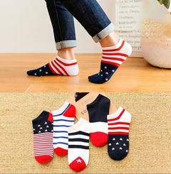 Men's Socks Sport Invisible Ankle Socks Solid Color Boat Socks Breathable Cotton Socks color one normal