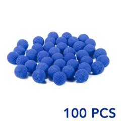 100pcs Refill Bullet Balls For Nerf Rival Apollo Zeus Kids Toy Compatible Gun