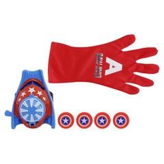 Super Heroic Figure Cartoon Glove Launcher Toys Kids Child Costume Play Prop