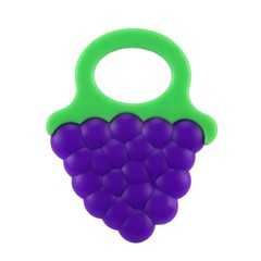 Non-toxic Cartoon Shape Baby Teether Toys Food Grade Silicone Bite Tools