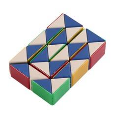 Magic Snake Twist Puzzle Shape Changing Magic Ruler Intelligence IQ Toy