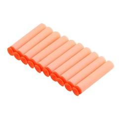 10 pcs Orange Soft Flexible Eva Bullets Bullets For Nerf Blaster Toy Gun