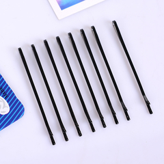 HEIDI 60Pcs/Set Black Hairpins For Women Hair Clip Lady Bobby Pins Invisible Wave Hairgrip Barrette straight 4.5cm