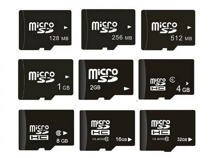 Memory Cards Micro SD Card 8GB 16GB 32GB 64GB 128GB class 10 Microsd TF card Pen drive Flash black 128MB 100 one