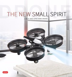 H36 Mini Drone RC Drone Quadcopters Headless Mode One Key Return RC Helicopter black fixed height without camera  balck
