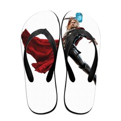 GGHOUSE Marvel Unisex Slippers Thong Sandals and Arched Support Top Flip Flap Sandals - Thor