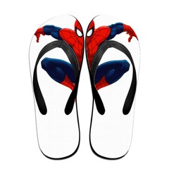 GGHOUSE Marvel Unisex Slippers Thong Sandals and Arched Support Top Flip Flap Sandals - Spider Man