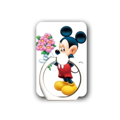Disney Characters Cell Phone Ring Holder-Stand Holder with Most of Smartphones Tablet and Phone Case disney one size