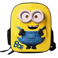 Disney Frozen minions Kindergarten old boys and girls lovely cartoon schoolbag children backpack Minions