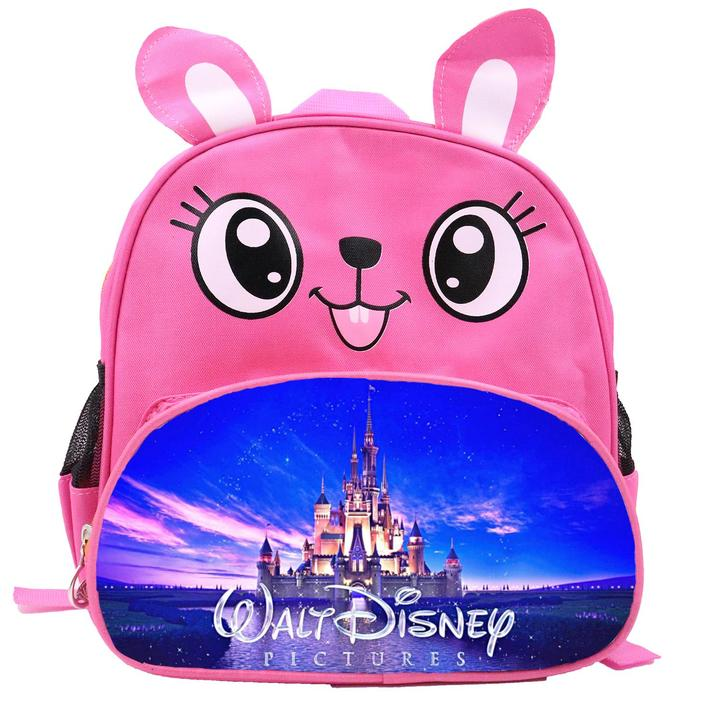 Disney All Characters Cute Kids Backpack Children's School Bag for Boys and Girls Pink Rabbit Disney 1