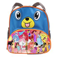 Disney All Characters Cute Kids Backpack Children's School Bag for Boys and Girls Blue Dog Disney 1