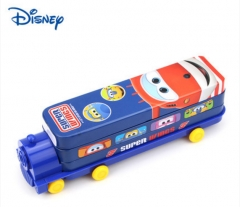 Disney Mickey children mickey pencil box primary school children kindergarten car shape pencil Super Wings1