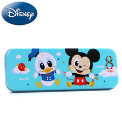 Disney Sofia pencil-box Male girl cartoon creative double pencil-box mickey pencil-box Mickey1