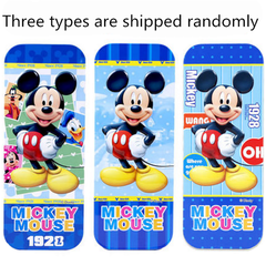 Disney boys and girls pencil box cartoon princess iron double-layer large capacity writing case mickey1