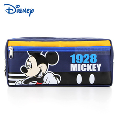 Disney pen bag frozen pen box cartoon stationery bag children's large capacity pencil bag mickey1