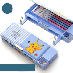 Pikachu wang wang team set up dagon pencil box pencil box children's kindergarten pencil box pikachu1