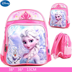 Disney Sofia snow princess backpack for boys and girls grade 1-3 primary school students Frozen