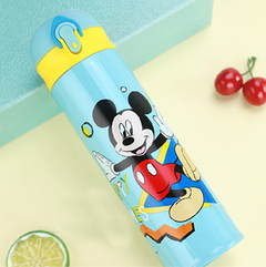 Disney Mickey Mouse Authorization children's thermos cups will be cartoon pot straight drink cups mickey1 500ml