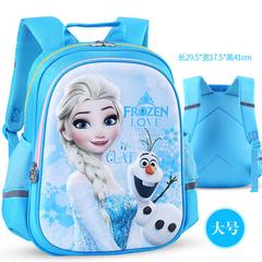 Disney 2018 new light children's schoolbag primary school boys grade 1-3163 mickey girls and boys frozen