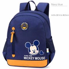 Disney children's schoolbag kindergarten boys and girls 3-6 years old cartoon children backpack blue