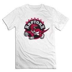 NBA Toronto Raptors Men T shirt with round neck short sleeves half sleeve pure cotton loose white Toronto Raptors1 xxxxl 185-190 cotton