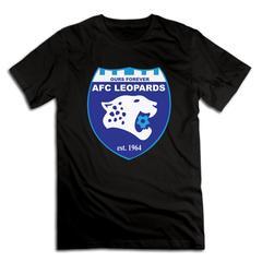 Kenyan Premier League All Football Team Logo Cotton Men Fashion T-Shirt Print shirt black afc leopards xxxxl 185-190 cotton