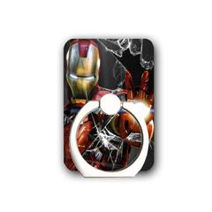 Disney marvel Iron man Phone Ring Holder-Stand Holder with Most of Smartphones Tablet and Phone Case Iron man1 one size