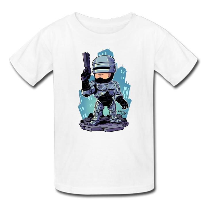 White Logo Comic Star Wars Boys T-shirt