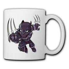 DC Marvel Comics Black Panther Ceramic mug water mug simple couple mug coffee mug milk mug teacup Black Panther1 350ml