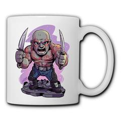 DC Marvel Drax the Destroyer Mugs men women ceramic mug home water mug minimalist office coffee mugs Drax the Destroyer 350ml