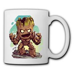 DC Marvel Doctor Groot Mugs men's women's ceramic mug home water mug minimalist office coffee mugs Groot1 350ml