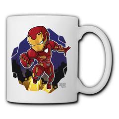 DC Marvel Doctor Iron Man Mugs men's women's ceramic mug home water mug minimalist office coffee mug Iron Man1 350ml