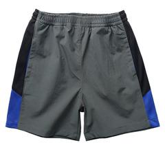 Children's short trousers for football quick dry sports short trousers Casual shorts for boys girls gray-1 100cm