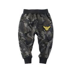 Boys' shorts summer wear 2019 summer wear black boys' summer sports trousers thin boys' trousers black--1 90cm