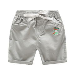 Summer five minutes children's casual shorts thin baby pants summer children's wear boy trousers gray-1 90cm