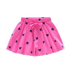 Girls' shorts pure cotton new children's wear shorts children's hot pants skirt pants Korean version pink-1 100cm