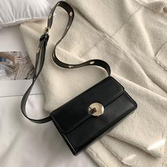 strap small bag female bag casual single shoulder cross girl restore ancient ways small square bag black 20cm*17cm*12cm