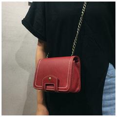 Women's summer clutch women's trendy all-in-one ulzzang cross carry mini single-shoulder chain bag red 18cm*13cm*7cm