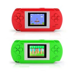Child Game Handheld player Consoles Game Player To TV With 268 Different Games red 1pcs