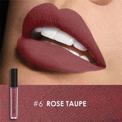 FOCALLURE Waterproof Matte Liquid Lipstick Moisturizer Long Lasting Cosmetic Beauty Makeup #6