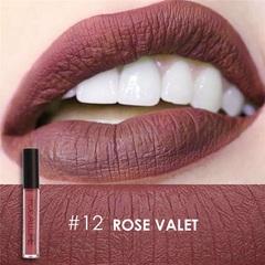 FOCALLURE Waterproof Matte Liquid Lipstick Moisturizer Long Lasting Cosmetic Beauty Makeup #12