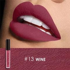 FOCALLURE Waterproof Matte Liquid Lipstick Moisturizer Long Lasting Cosmetic Beauty Makeup #13