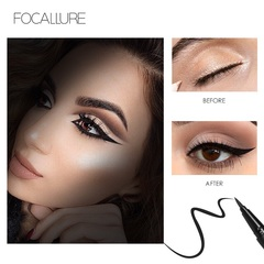 FOCALLURE Professional Liquid Eyeliner Pen Make up 24 Hours Long Lasting Water-Proof black